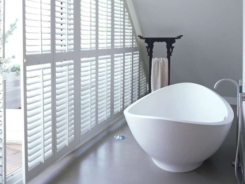 Special Shaped Plantation Shutters